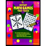 Instant Math Games That Teach Gr 2-5 By Creative Teaching Press