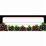 Dots On Black Apples Name Plates By Creative Teaching Press