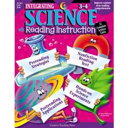 Integrating Science W/ Read 3-4 Reading Instruction By Creative Teaching Press