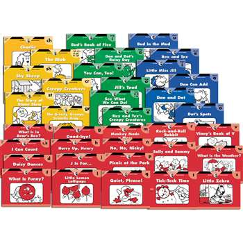 Itty Bitty Readers 36 Books Variety Pk 1 Each 3216-3251 By Creative Teaching Press