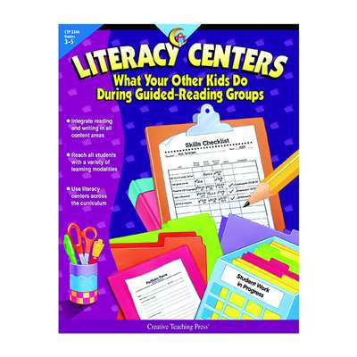 Literacy Centers Gr 3-5 By Creative Teaching Press