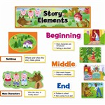 Story Elements Mini Bulletin Board Set By Creative Teaching Press