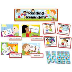 Reading Reminders Mini Bulletin Board Set By Creative Teaching Press