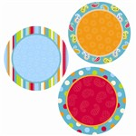 Dots On Turquoise Dots 6In Designer Cut Outs By Creative Teaching Press