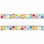 Shop Hexagon Name Plates - Ctp3890 By Creative Teaching Press