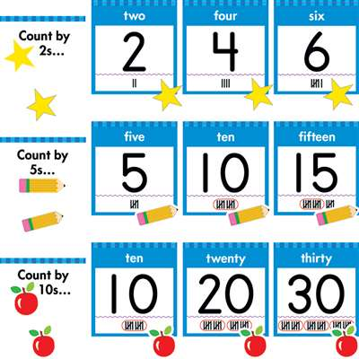 Numbers 0-30 Bulletin Board Set By Creative Teaching Press