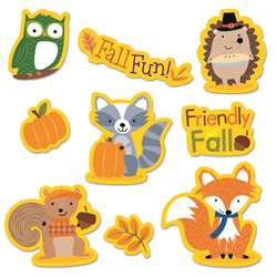 Fall Woodland Friends Stickers, CTP4044