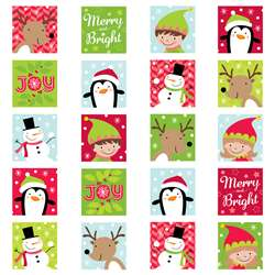Merry & Bright Stickers, CTP4046
