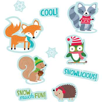 Winter Woodland Friends Stickers, CTP4047