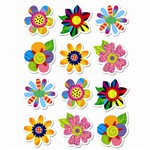 Poppin Patterns Spring Flowers Stickers By Creative Teaching Press