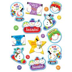Snowman Stickers By Creative Teaching Press
