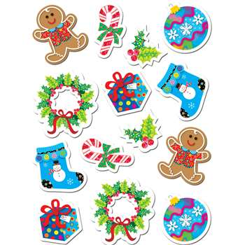 Winter Holiday Stickers By Creative Teaching Press