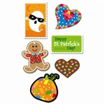 Holiday Stickers Variety Pack By Creative Teaching Press