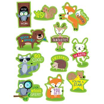 Woodland Friends Reward Stickers, CTP4199