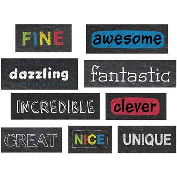 Chalkboard Reward Phrases Stickers, CTP4385