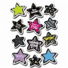 B & W Stars Stickers By Creative Teaching Press