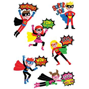Superhero Rewards Stickers, CTP4402
