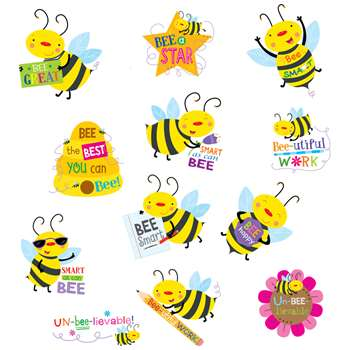 Bee Rewarded Stickers, CTP4403