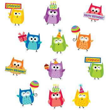 Happy Birthday Stickers, CTP4406