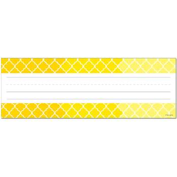 Ombre Yellow Moroccan Name Plates Paint, CTP4455