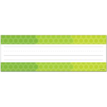Ombre Lime Green Hexagons Name Plates - Paint, CTP4456