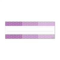 Ombre Purple Radiant Stars Name Plates - Paint, CTP4459
