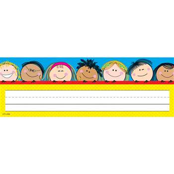 Smiling Stick Kids Name Plates By Creative Teaching Press