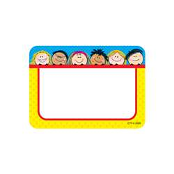 Smiling Stick Kids Name Tags By Creative Teaching Press