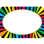 Rainbow Stripes Name Tags By Creative Teaching Press