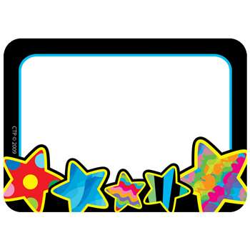 Poppin Patterns Stars Name Tags By Creative Teaching Press