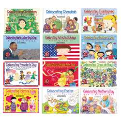 Holiday Series Variety Pk 12-Set Of Books 1 Ea 4522-4533 By Creative Teaching Press