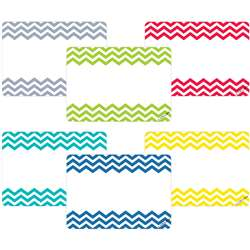 Shop Chevron Name Tags - Ctp4549 By Creative Teaching Press
