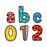 Poppin Patterns Multi-Designs Lower Case Letters Stickers By Creative Teaching Press
