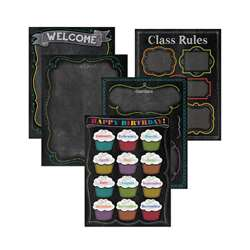 Chalk It Up Classroom Essentials Chart Pack, CTP4707
