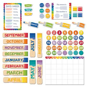 Painted Palette Calendar Set, CTP4708
