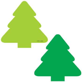 "Tree 3"" Calendar Cut Outs, CTP4903"