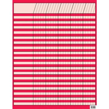 Shop Poppy Red Incentive Chart - Ctp5049 By Creative Teaching Press