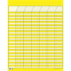 Lg Yellow Vertical Incentive Chart By Creative Teaching Press