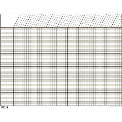 Chart Incentive Horizontal White 28 X 22 By Creative Teaching Press