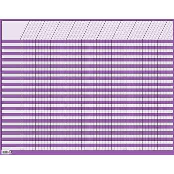 Lg Purple Horiz Incentive Chart By Creative Teaching Press