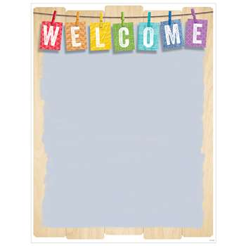 Upcycle Style Welcome Chart, CTP5241