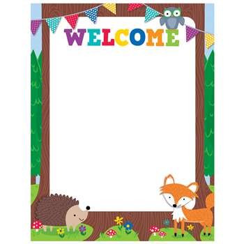 Woodland Friends Welcome Chart, CTP5280