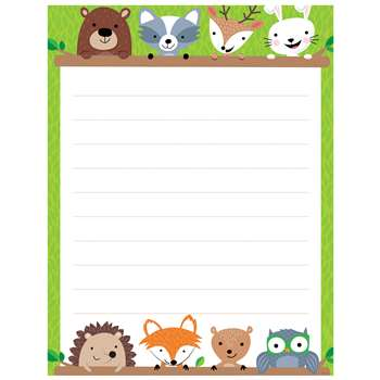 Woodland Friends Blank Chart Lined, CTP5295