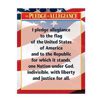 Pleadge Of Allegiance By Creative Teaching Press