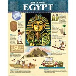 Ancient Egypt Chart By Creative Teaching Press