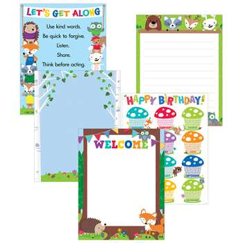Woodland Friends 5 Poster Pack, CTP5647
