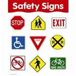 Safety Signs By Creative Teaching Press