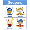 Chart Seasons By Creative Teaching Press