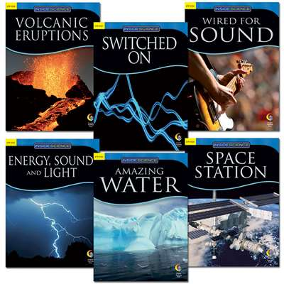 Physical Science Variety Pack 6/Bks By Creative Teaching Press