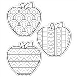Shop Color Me Apples 6In Designer Cut Outs - Ctp5846 By Creative Teaching Press